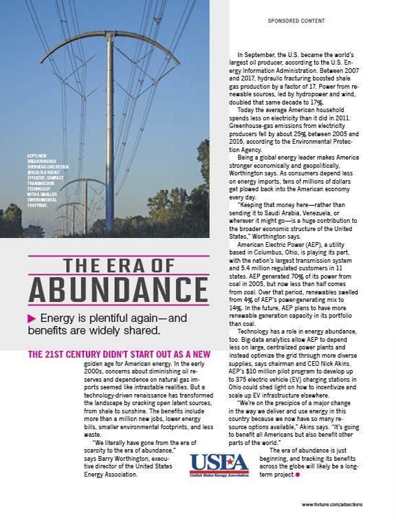 The Era of Abundance