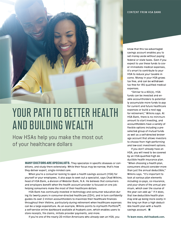Your Path to Better Health and Building Wealth - Time Inc