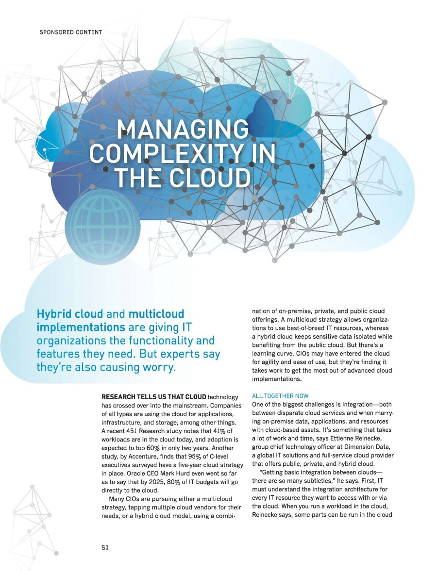 Managing Complexity in the Cloud - Time Inc  Content Marketing