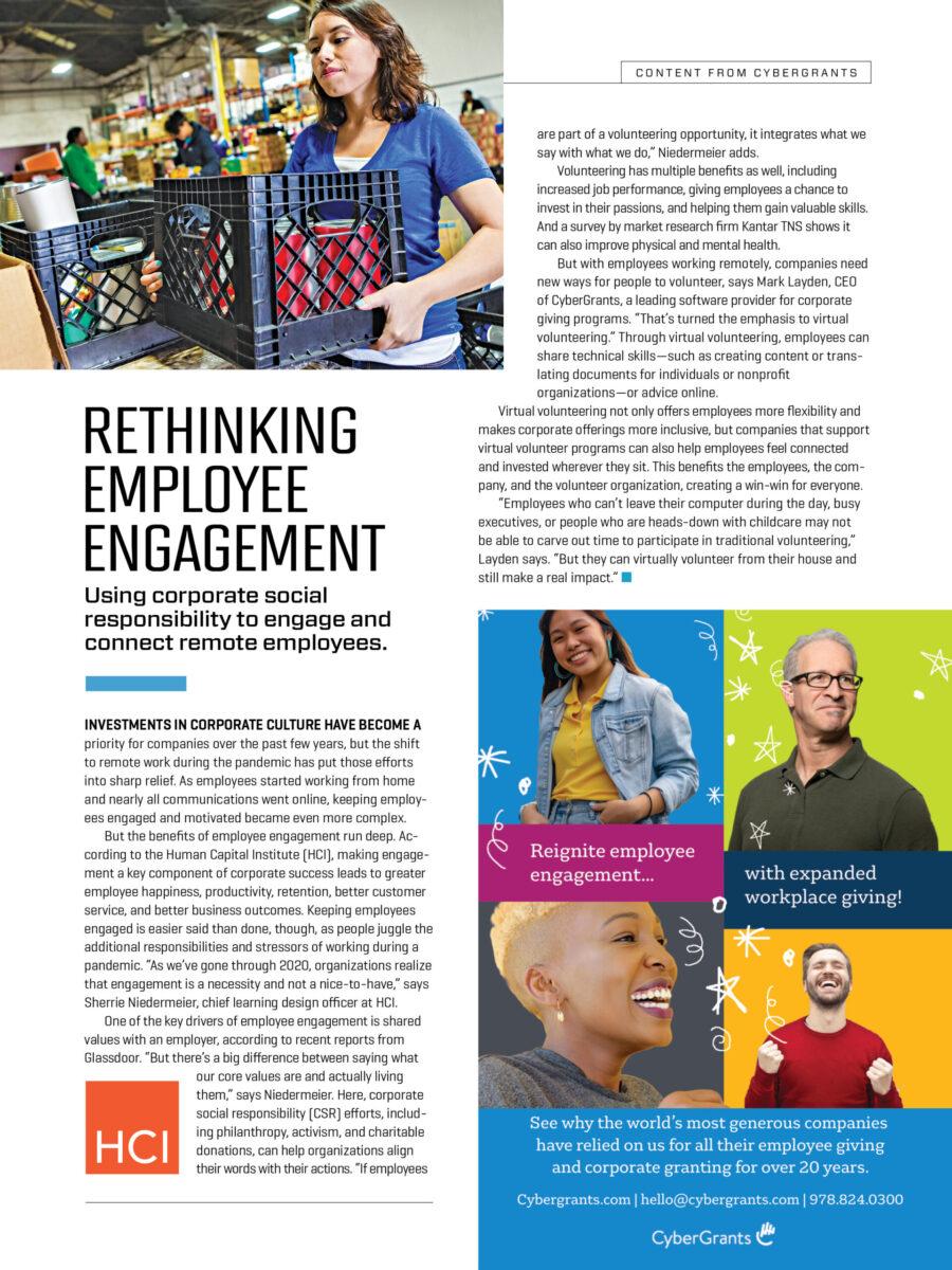 Rethinking Employee Engagement
