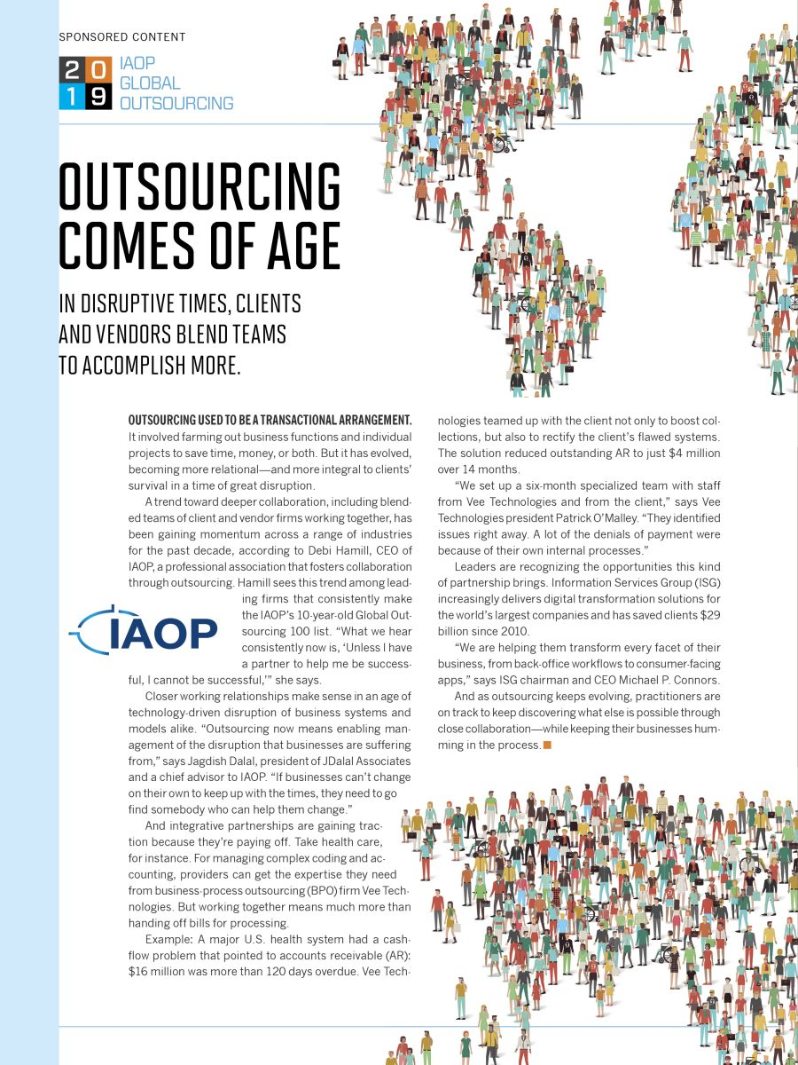 Outsourcing Comes of Age