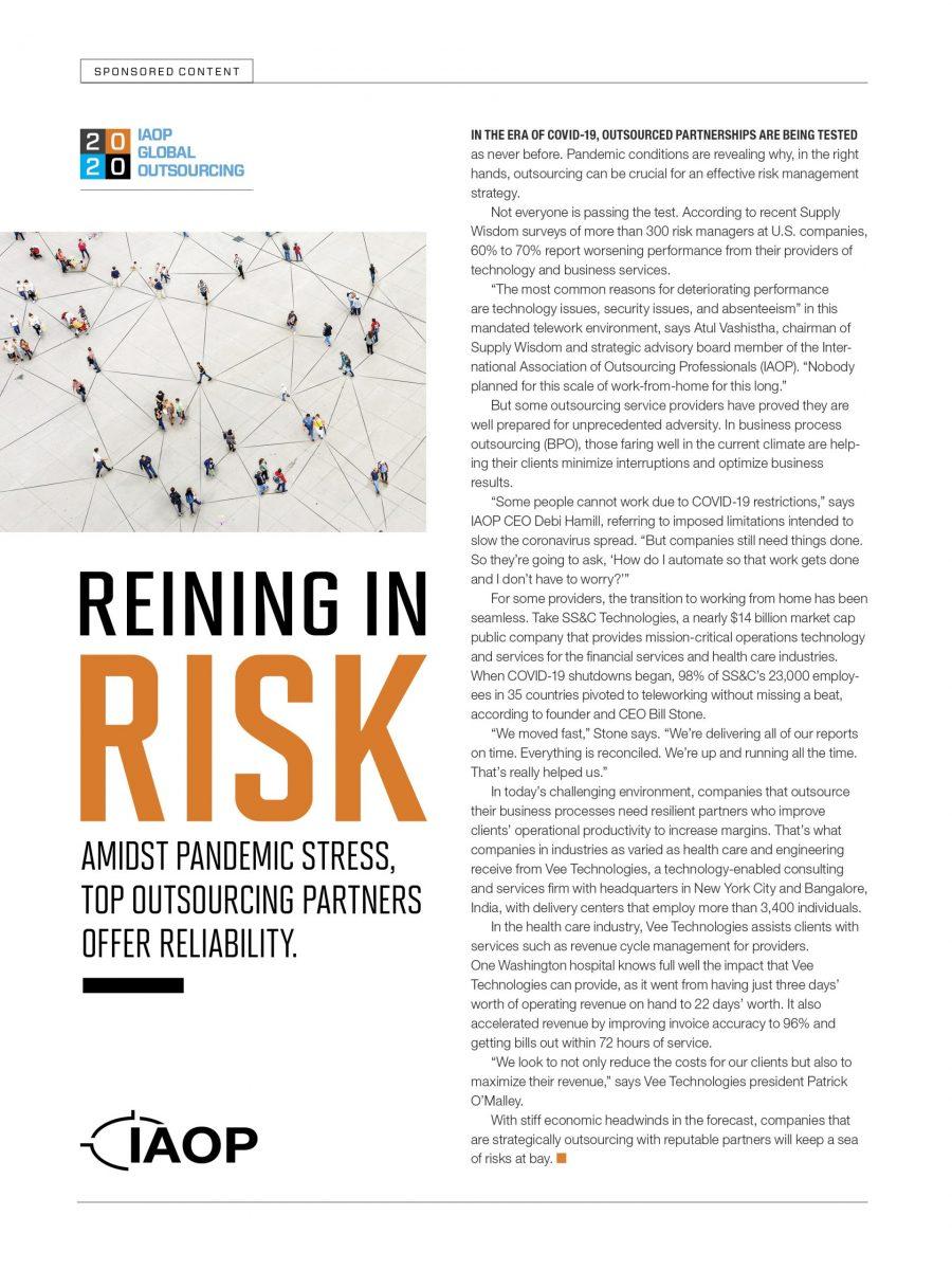 Reining In Risk